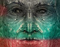 symmetry illustration - zbrush experiment