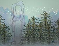 Robot in Redwoods