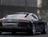 school student project visuals and AUDI:)