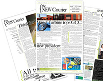 the NEW Courier newspaper