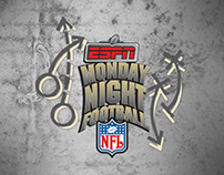 ESPN Monday Night Football Logo Design