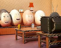 """UKTV Gold """"Easter Egg Hunt"""""""