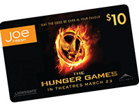 Joe Fresh Hunger Games promotion