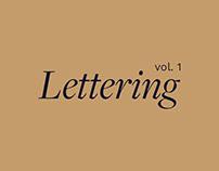 Lettering vol. 1