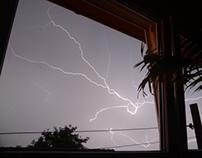 Thunder Storm Long Exposure