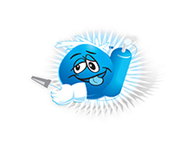 Sour Extinguisher Candy