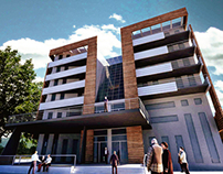 City hotel Student project, Niš, Serbia