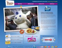 General Mills Feeding Dreams Brand Microsites