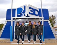 Directv 3D Promo Station | Rugby Four Nations 2012