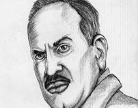 Shivaji Satam's Sketch
