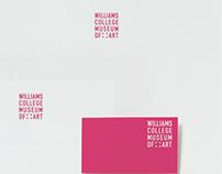 Williams College Museum of Art. Identity Design.