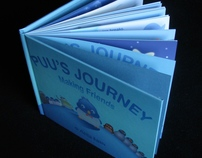 Puu's Journey - Children's book prototype book