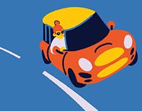 Mini Cooper Driving Etiquette