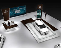 Lexus - Secondary Motor Show Design
