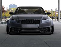 Audi A4 CarbonPixels