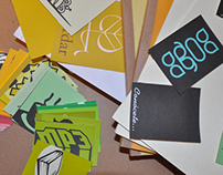 Tarjetas coleccionables CMYK / CMYK Collectable Cards
