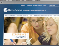 Barrie School Website
