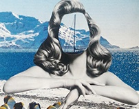 1 Hand cut collage