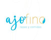 Branding integral del restaurante Ajofino