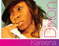 Comp Card designed for Model Kareena Alecia Dixon