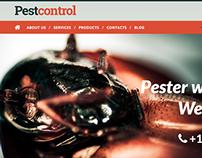 Pest Control Joomla Template