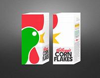 Embalagem Kellogs Corn Flakes