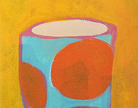 Cups (9 paintings)