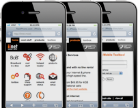 iiNet Mobile Website