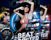 Beat Booster Flyer Template