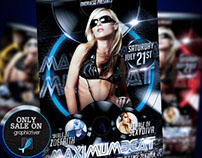 Maximum Beat Flyer Template