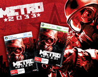 Metro 2033 Game Launch Banner Campaign 2009