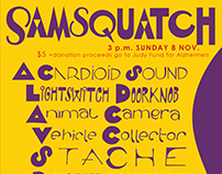 Samsquatch Poster