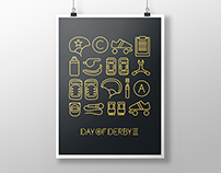 Day of Derby III - Icons & Typo