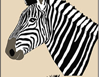 Zebra hangtag in Illustrator