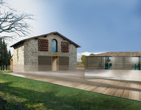 Tuscany Contemporary Country House; Bicubic Studio