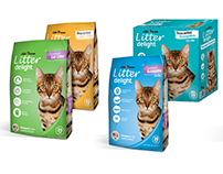 Fleet Farm Cat Litter Packaging