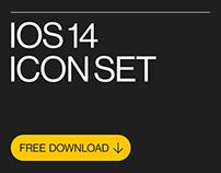 iOS 14 Free Icon Set