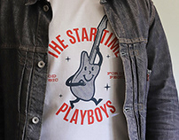 The Star Time Playboys T-shirt design