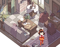 SHIMAI 姉妹 / 2D Isometric Test