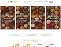 WS Spicy Spices Store WordPress Theme