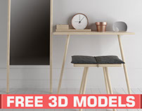 Free 3D models: Beautiful Monday