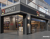 A-market -5 settlement (3d visualization)