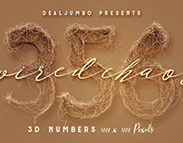 Wired Chaos – Free 3D Numbers