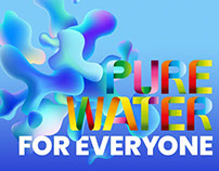 Pure Water Concept