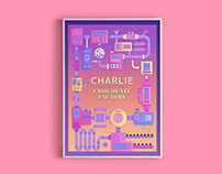 Charlie and the Chocolate Factory Poster Redesign