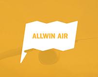 Allwin Air, Brand eXperience Design
