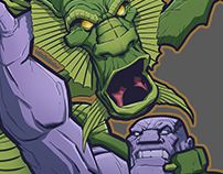 IT The Living Colossus vs. Fin Fang Foom