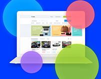 Avito main page redesign