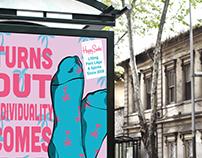 Happy Socks poster Ad