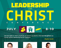 Leadership with Christ Conference Flyer